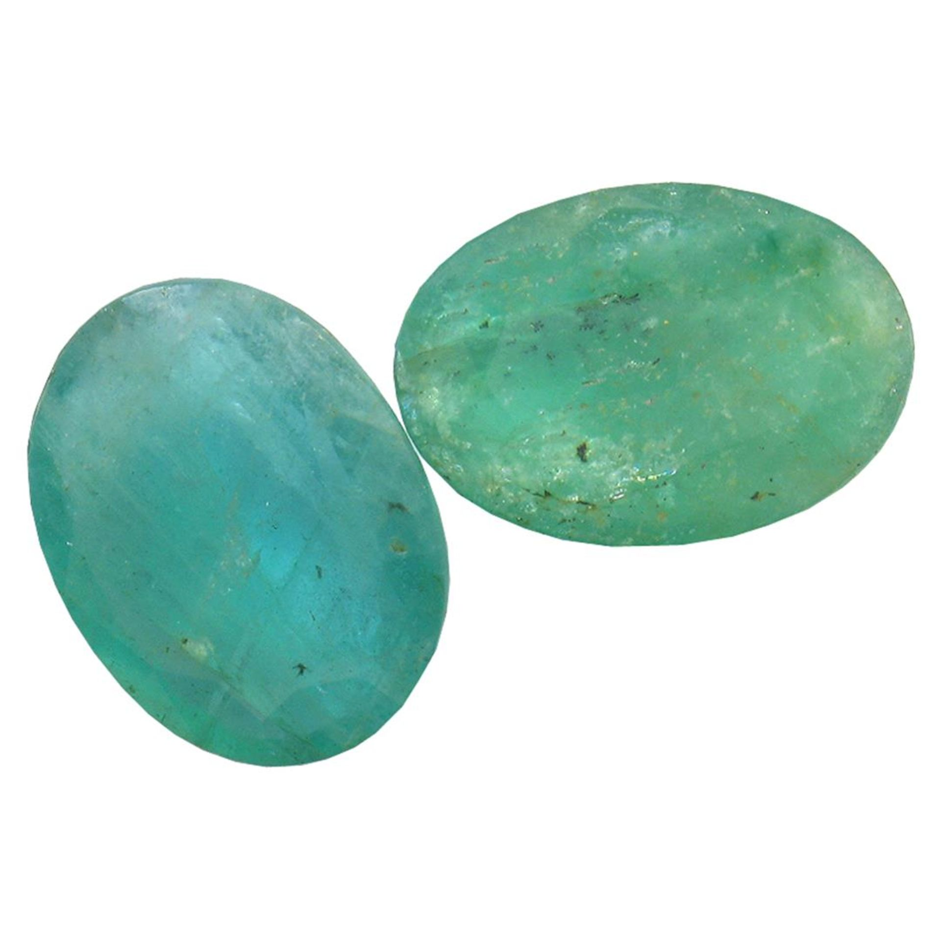 6.78 ctw Oval Mixed Emerald Parcel