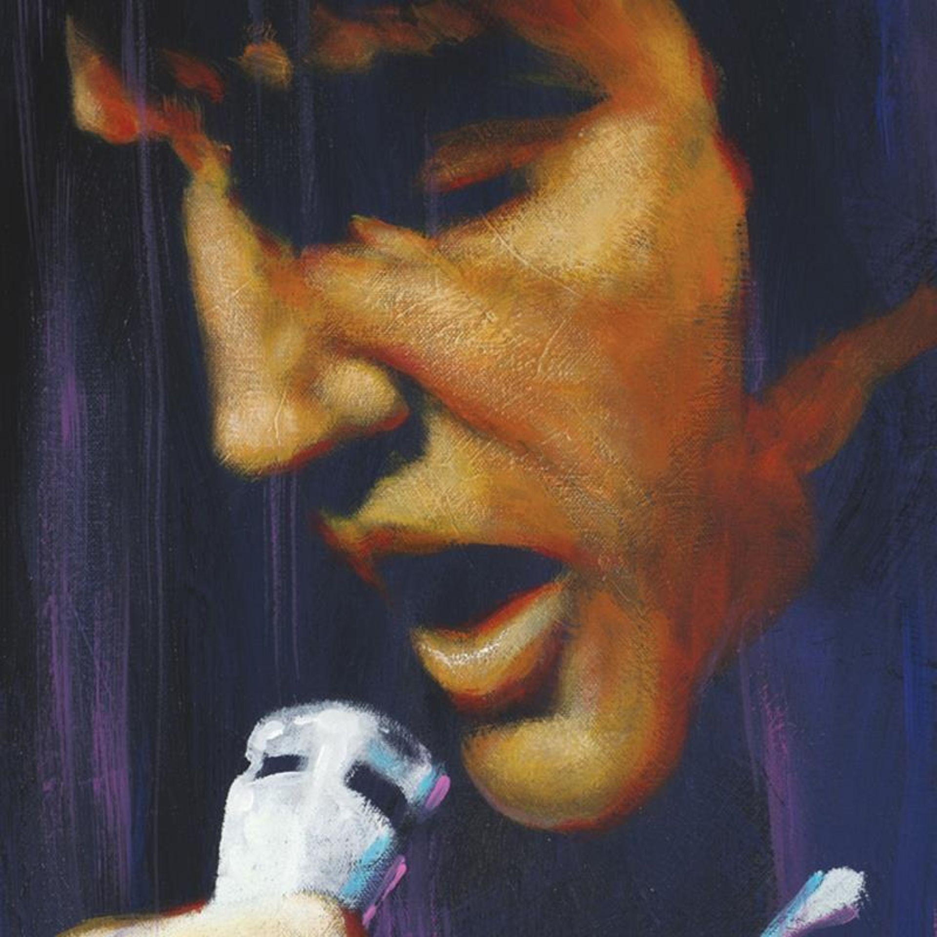 """""""I Dream"""" Limited Edition Giclee on Canvas by Stephen Fishwick, Numbered and Sig - Image 2 of 3"""