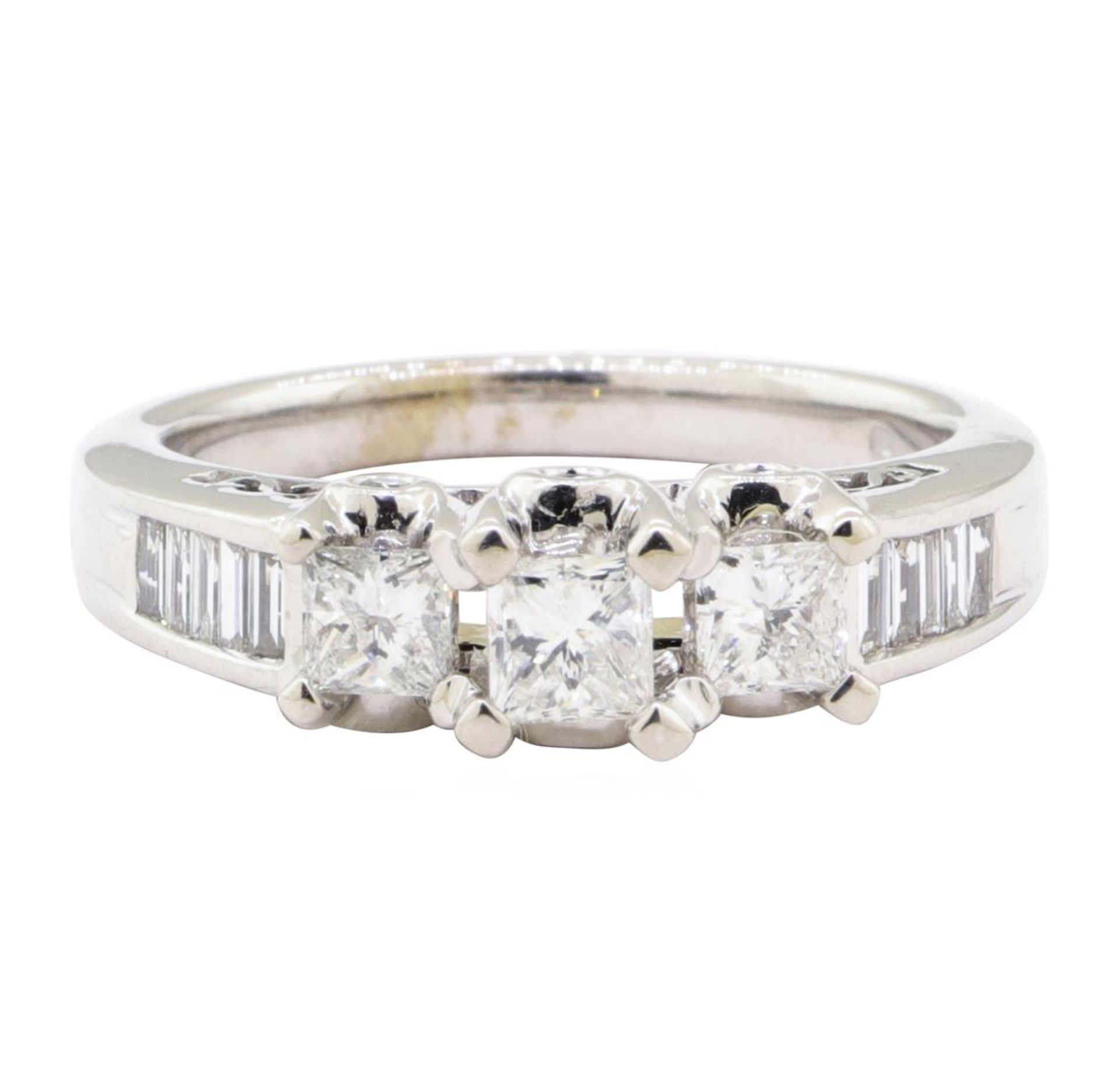 1.00 ctw Diamond Ring - 14KT White Gold - Image 2 of 5