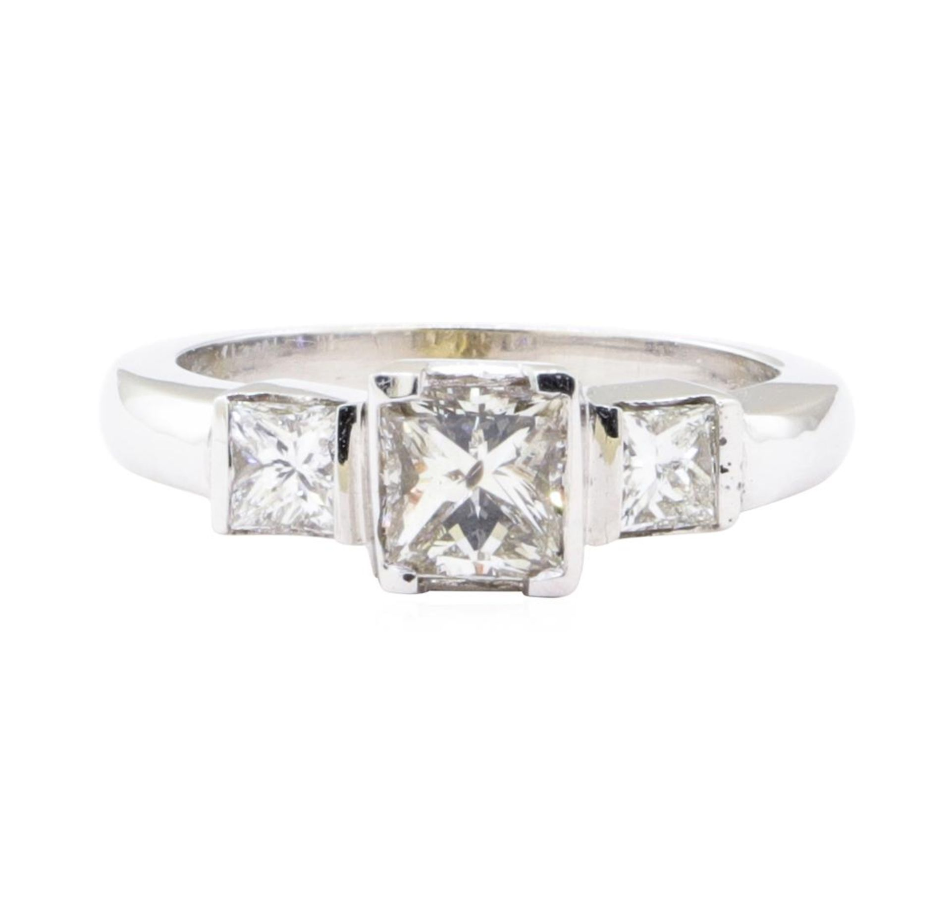 1.45 ctw Diamond Ring - 14KT White Gold - Image 2 of 5