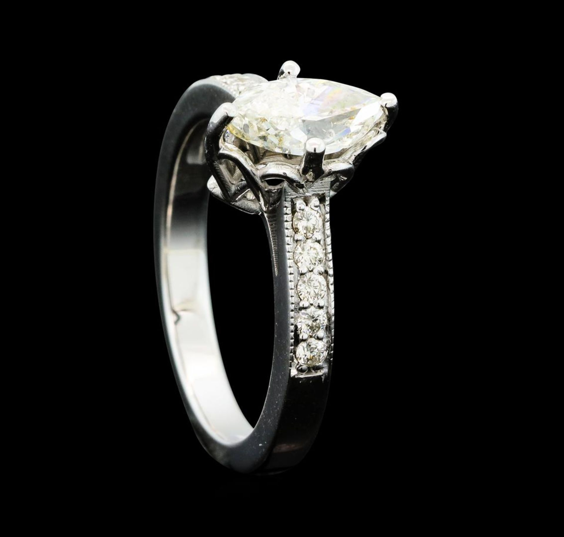 1.21 ctw Diamond Ring - 14KT White Gold - Image 4 of 5