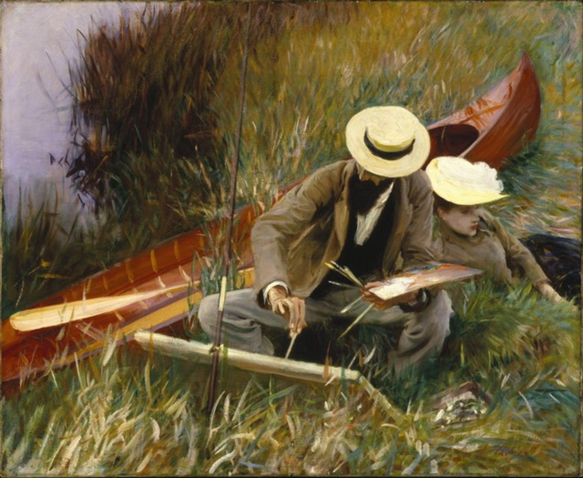 Sargent - An Outdoor Study