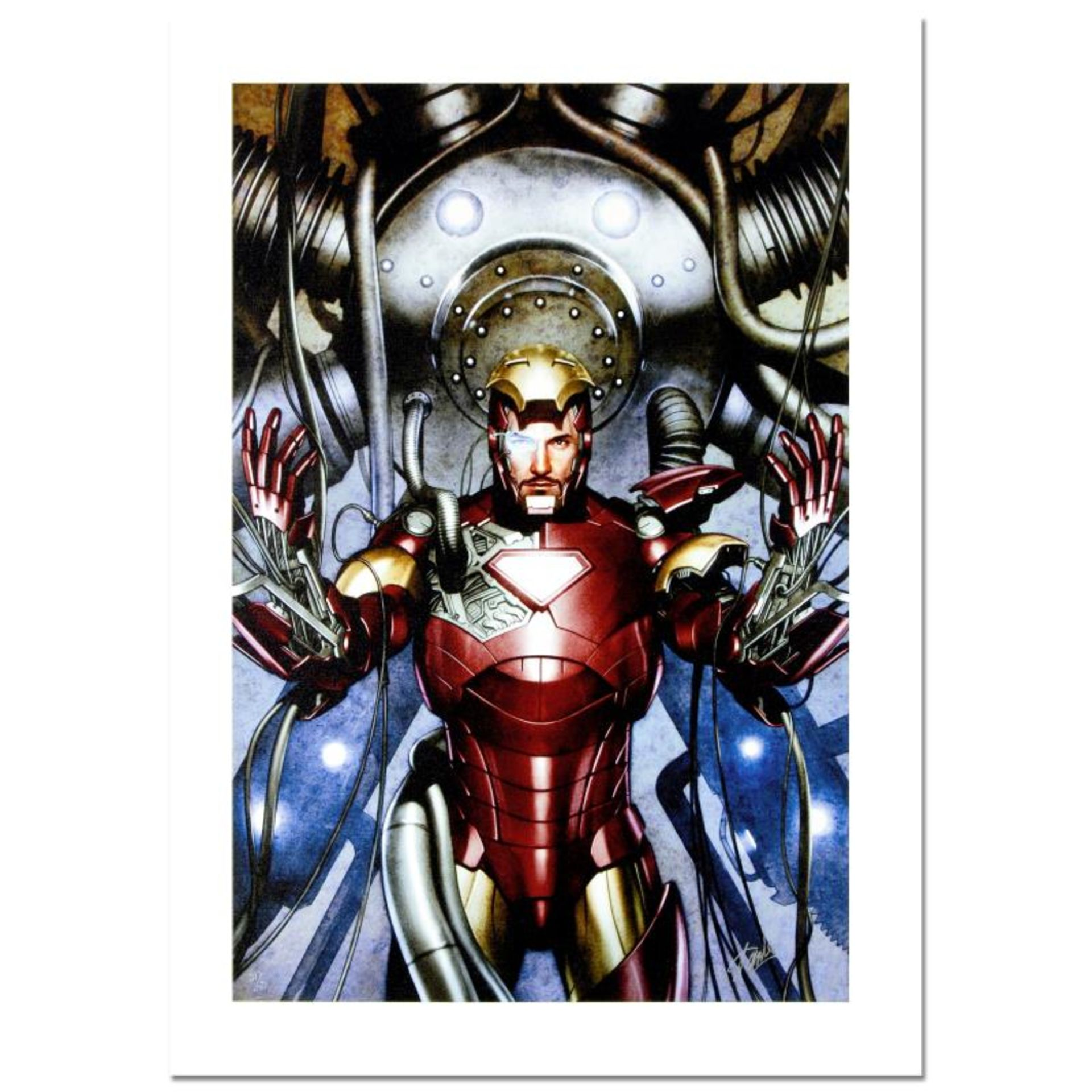"""Stan Lee Signed, """"Iron Man: Director of S.H.I.E.L.D. #31"""" Numbered Marvel Comics"""