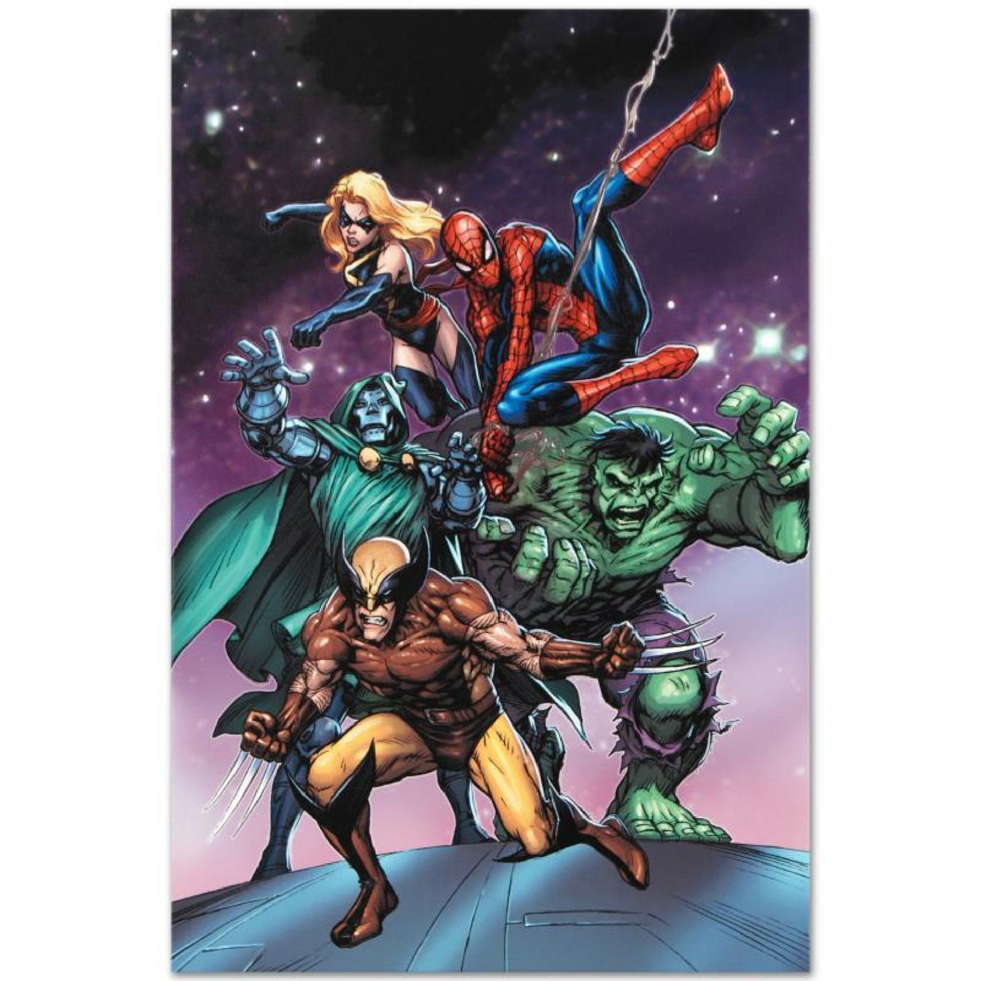 """Marvel Comics """"Avengers and the Infinity Gauntlet #3"""" Numbered Limited Edition G"""