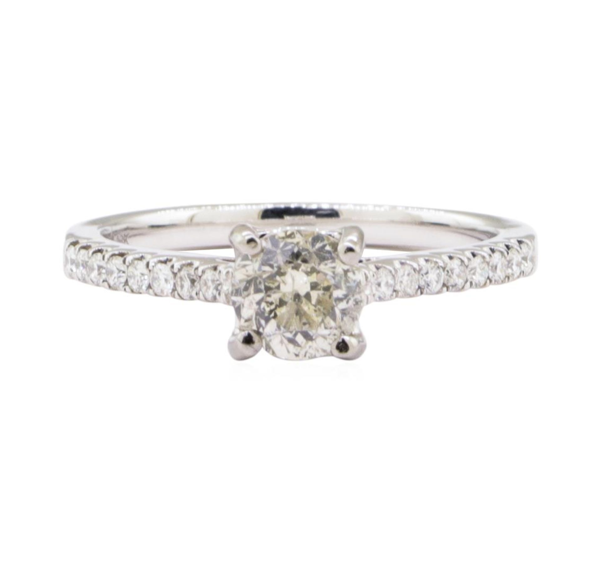 1.07ct Diamond Ring - 18KT White Gold - Image 2 of 4