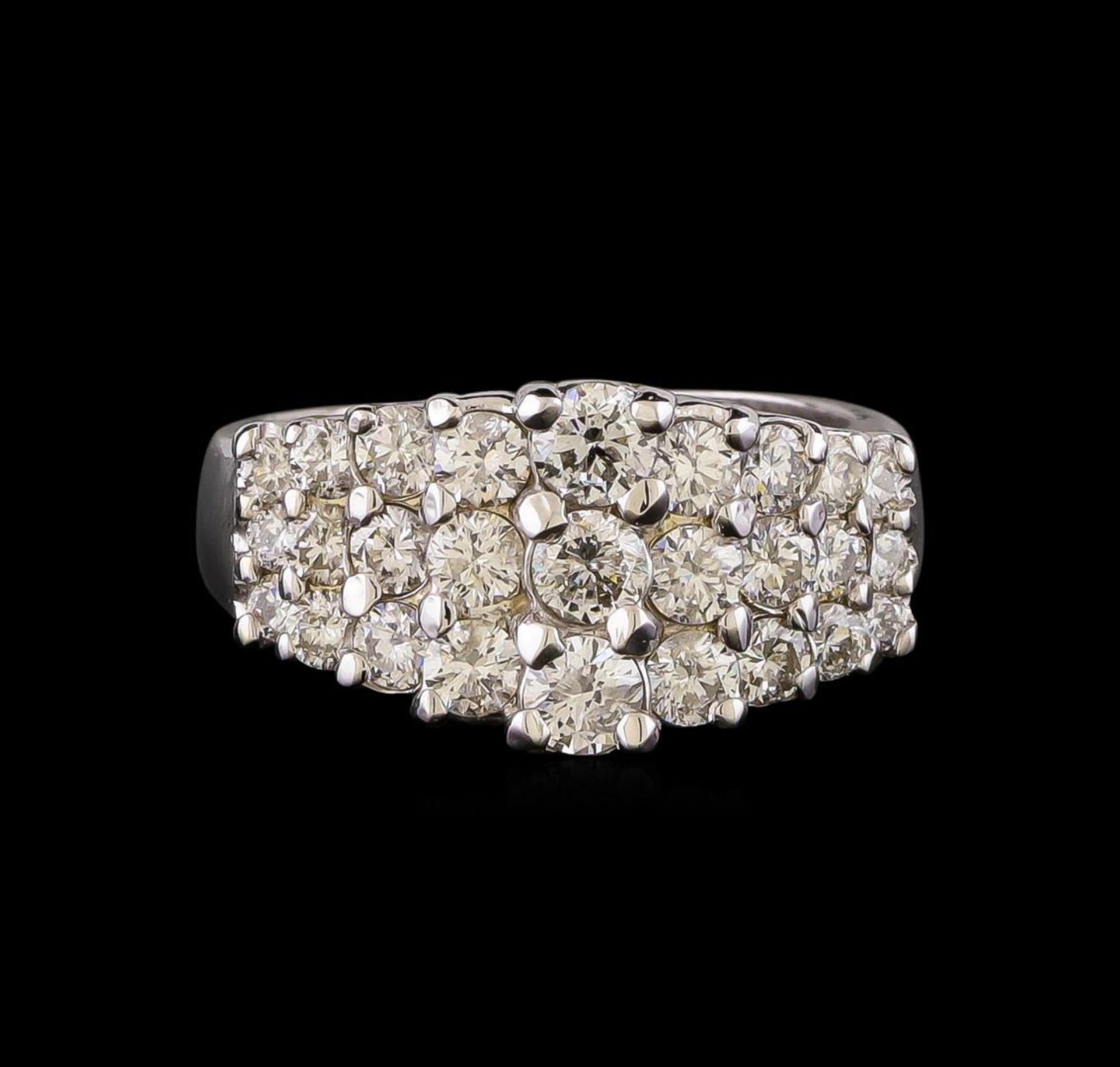 14KT White Gold 1.00 ctw Diamond Ring - Image 2 of 5