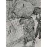 Edgar Degas - In The Rain