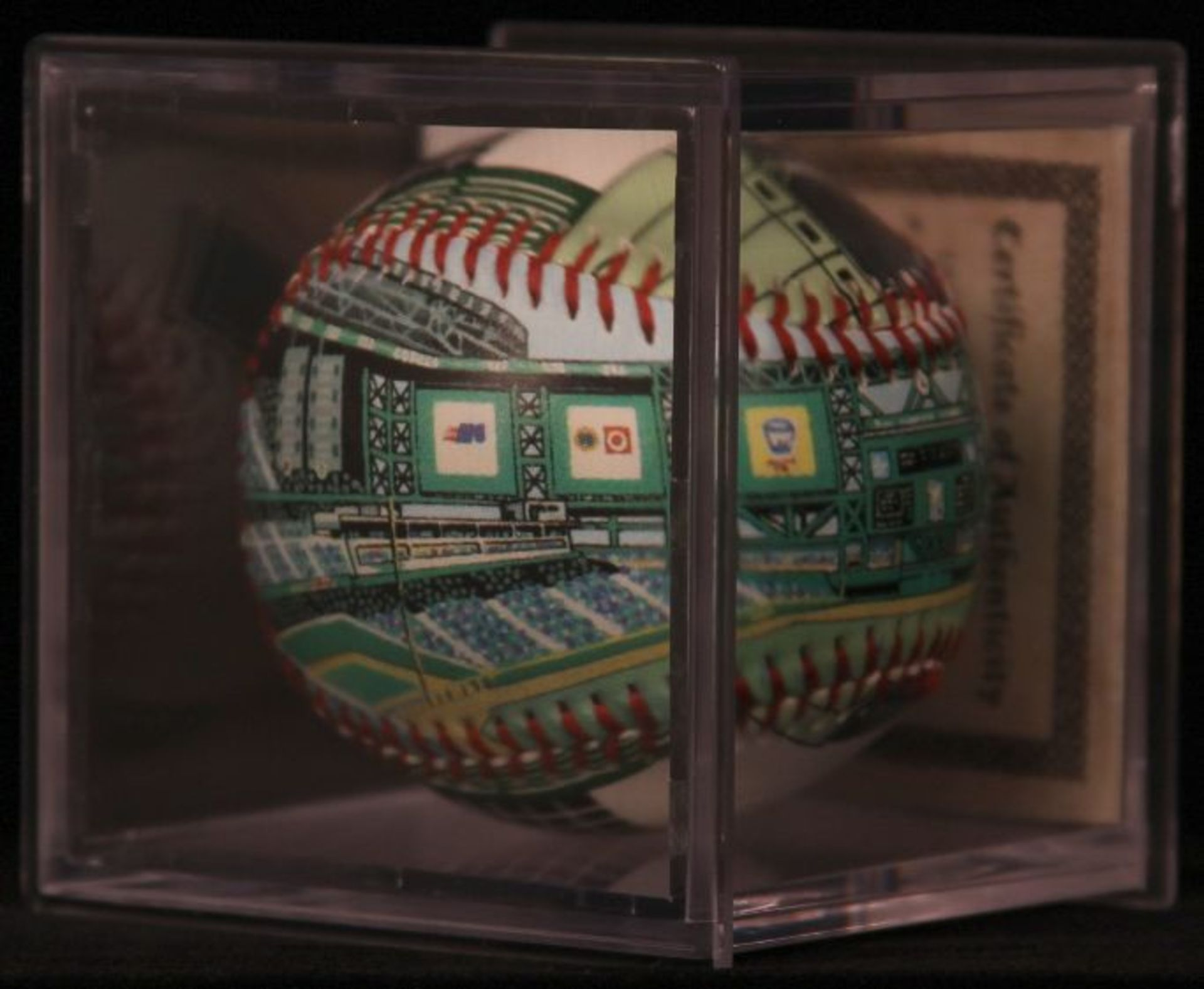 "Unforgettaball! ""Bank One Ballpark"" Collectable Baseball - Image 5 of 6"