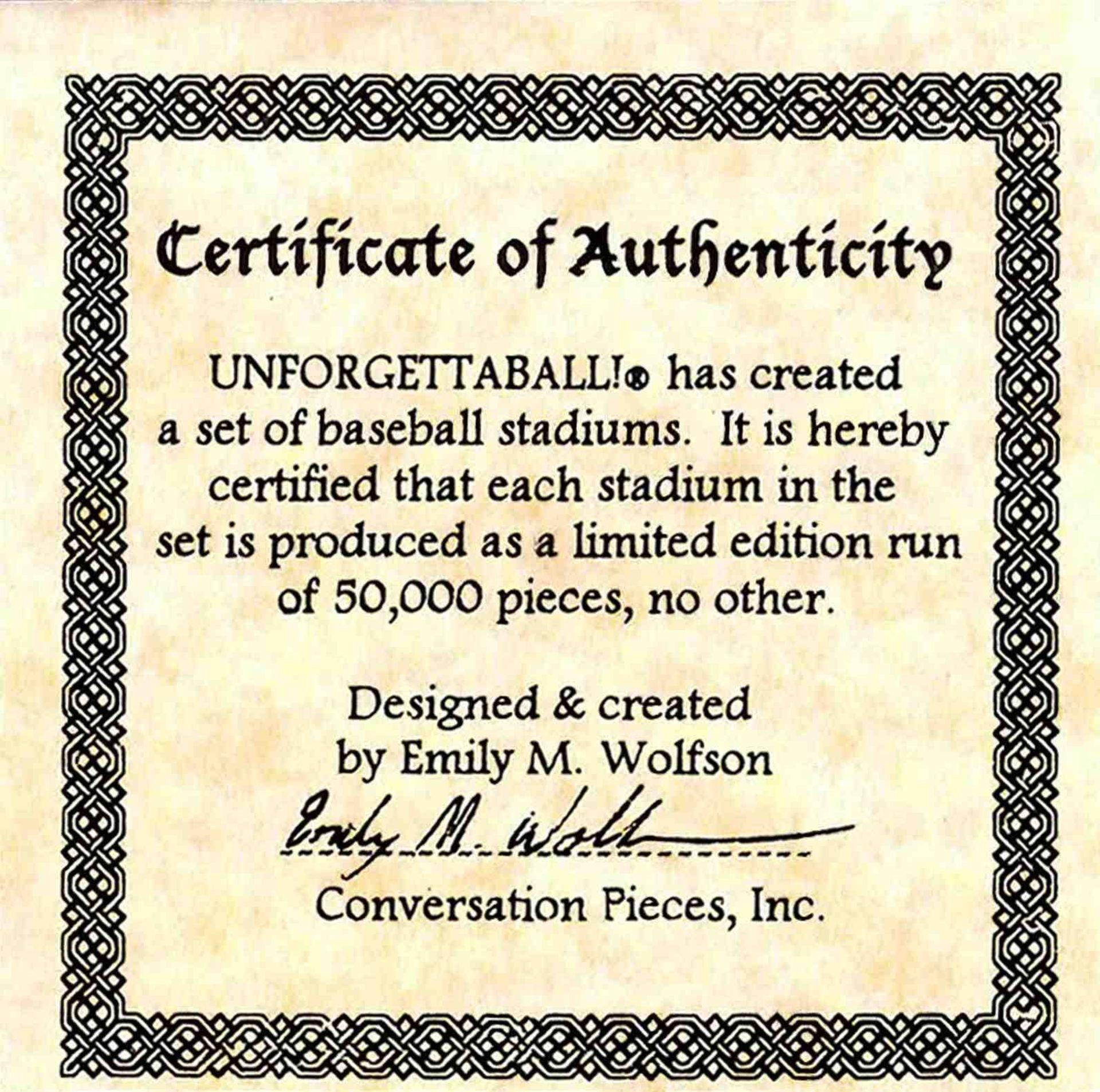 "Unforgettaball! ""Kingdome"" Collectable Baseball - Image 6 of 6"