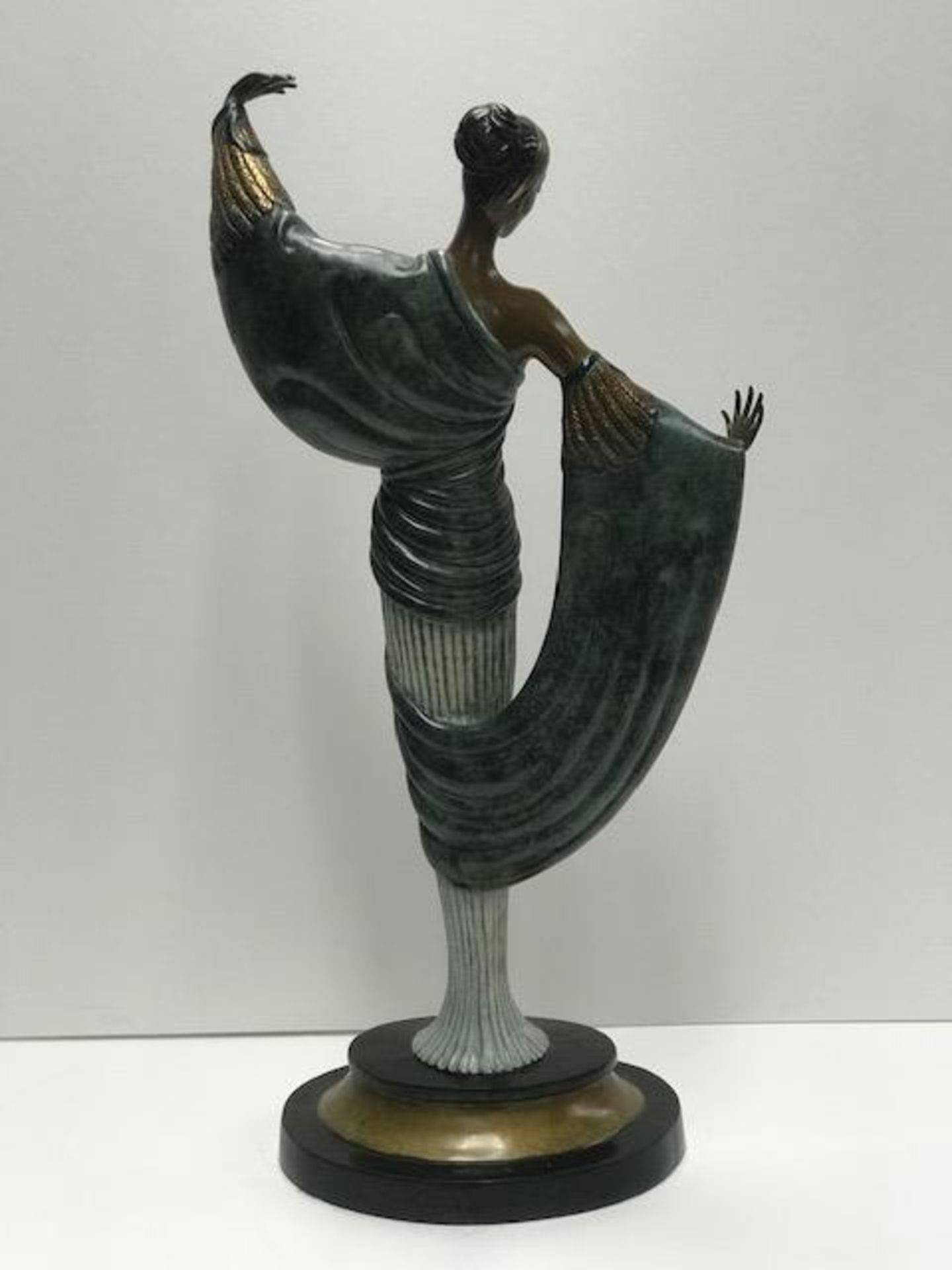 """""""In the Evening"""" by Erte: Images in Bronze - Image 2 of 5"""