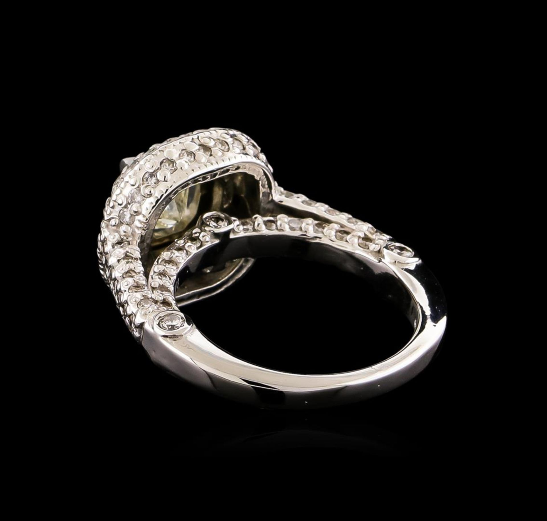 14KT White Gold 1.78 ctw Diamond Ring - Image 3 of 5