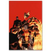 """Marvel Comics """"Astonishing X-Men #13"""" Numbered Limited Edition Giclee on Canvas"""