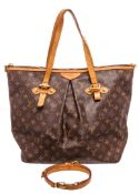 Louis Vuitton Brown Palermo GM Tote Bag