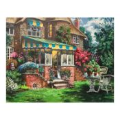 """Anatoly Metlan, """"Greenhouse"""" Limited Edition Serigraph, Numbered and Hand Signed"""
