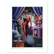 """""""Harley Quinn"""" Numbered Limited Edition Giclee from DC Comics with Certificate o"""