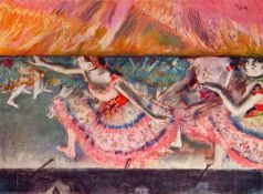 Edgar Degas - The Curtain Falls