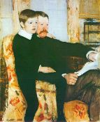 Mary Cassatt - Alexander J. Cassat and Son Robert Kelso Cassat