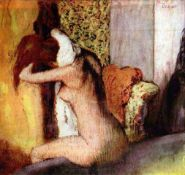 Edgar Degas - After Bathing #2