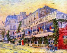 Van Gogh - The Restaurant De La Siren In Asnieres