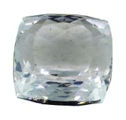 7.30ct.Natural Cushion Cut Aquamarine