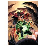 "DC Comics, ""Green Lanterns #15"" Numbered Limited Edition Giclee on Canvas by Tyl"