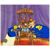 """""""Bear For Punishment"""" Limited Edition Animation Cel with Hand Painted Color, Num"""