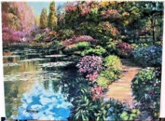 "Howard Behrens ""GIVERNY PATH (from THE ""TRIBUTE TO MONET"" COLLECTION)"""