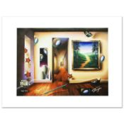"""""""Dreamlike Corridor"""" Limited Edition Giclee on Canvas by Ferjo, Numbered and Han"""