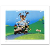 """""""To The 19th Hole"""" Limited Edition Giclee from Warner Bros., Numbered with Holog"""