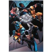 """Marvel Comics """"X-Men vs. Agents of Atlas #1"""" Numbered Limited Edition Giclee on"""