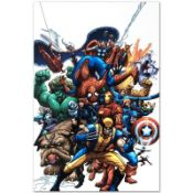 """Marvel Comics """"Marvel Team Up #1"""" Numbered Limited Edition Giclee on Canvas by S"""