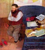 Edgar Degas - Portrait Of Diego Martelli