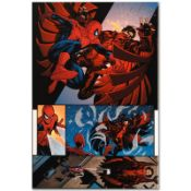"Marvel Comics ""The Amazing Spider-Man #594"" Numbered Limited Edition Giclee on C"