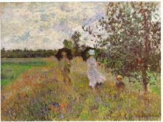 Claude Monet - Promenade a Argenteuil 1875