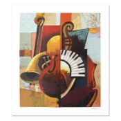 "Igor Kovalev, ""Symphony III"" Hand Signed Limited Edition Serigraph with Letter o"