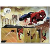 "Marvel Comics ""The Amazing Spider Man #584"" Numbered Limited Edition Giclee on C"