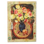 "Sergey Kovrigo, ""Sunshine Roses"" Hand Signed Limited Edition Serigraph with Lett"