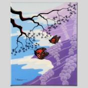"""Monarchs"" Limited Edition Giclee on Canvas by Larissa Holt, Numbered and Signed"