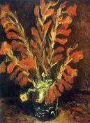 Van Gogh - Red Gladioli