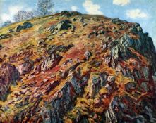 Claude Monet - The Boulder