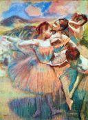 Edgar Degas - Dancers In The Landscape