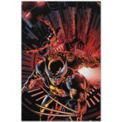 "Marvel Comics ""New Avengers #11"" Numbered Limited Edition Giclee on Canvas by Mi"