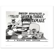 """Here Today, Gone Tamale"" Limited Edition Giclee from Warner Bros., Numbered wit"