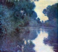 Claude Monet - Seine Bend in Giverny