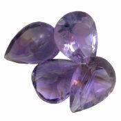 29.52ctw Pear Mixed Amethyst Parcel