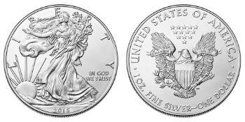 2015 American Silver Eagle .999 Fine Silver Dollar Coin