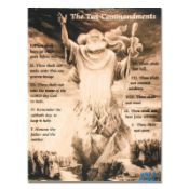 "Ten Commandments by ""Ringo"" Daniel Funes"