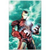 "Marvel Comics ""Iron Man Legacy #2"" Numbered Limited Edition Giclee on Canvas by"