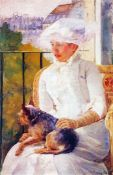 Mary Cassatt - Lady With Dog
