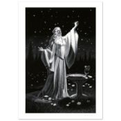 """""""Ring Of Galadriel"""" Limited Edition Giclee by Greg Hildebrandt. Numbered and Han"""